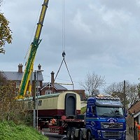 Arrival of Sandsend Sleeper