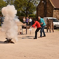 Stiddy Firing to commemorate the Royal Wedding