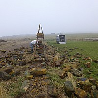 Restructure of traditional drystone wall
