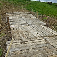 New cattle crossing installed in Tanners Beck