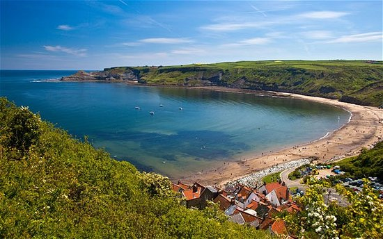 TO LET....Rare and amazing opportunity to lease a plot for a Beach Hut in delightful Runswick Bay.