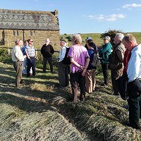 Whitby Naturalists Club visit Mulgrave Estate